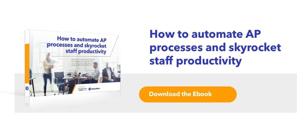 Ebook - How to Automate AP Processs and Skyrocket Produtivity