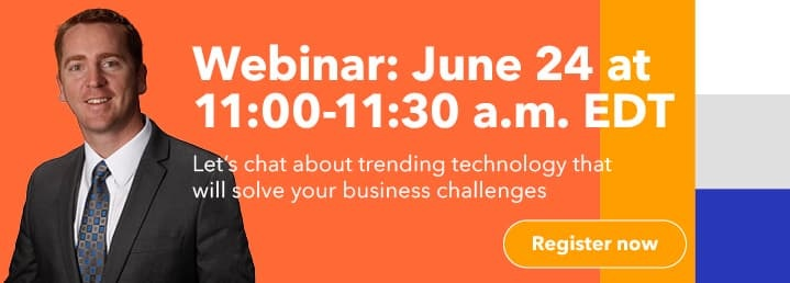 Special DocuWare coffee break! Let's chat about your digital transformation strategy for Q3 and Q4