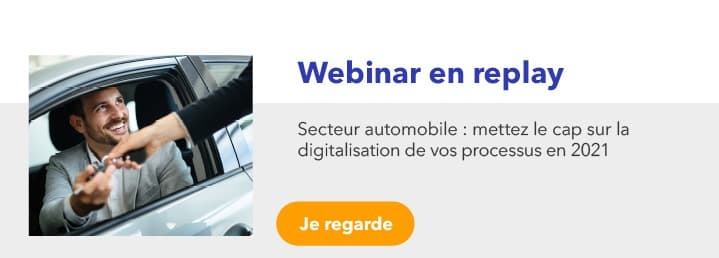 webinar en replay : professionnels de l'automobile : cap sur la digitalisation de vos processus en 2021