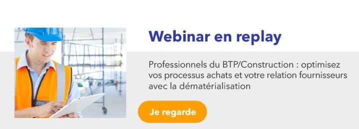 Professionnels du BTP Construction : lancez-vous dans la dématérialisation