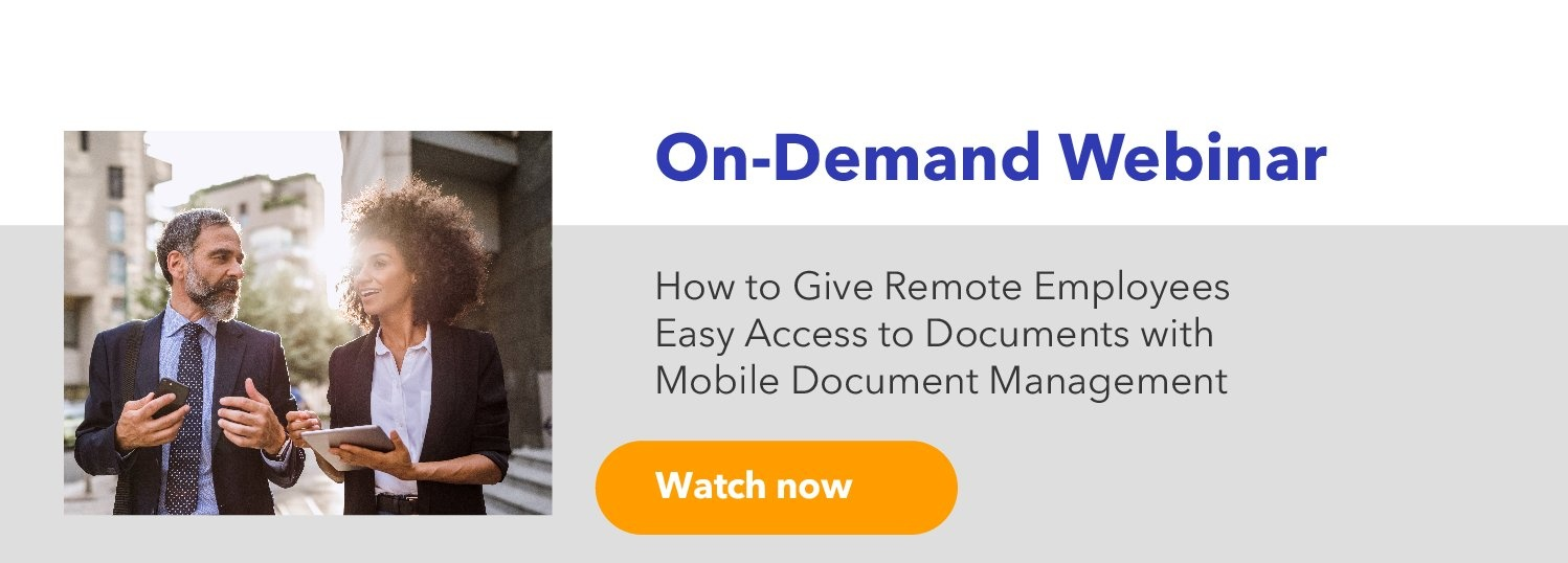 Give Remote Employees Easy Access to Documents