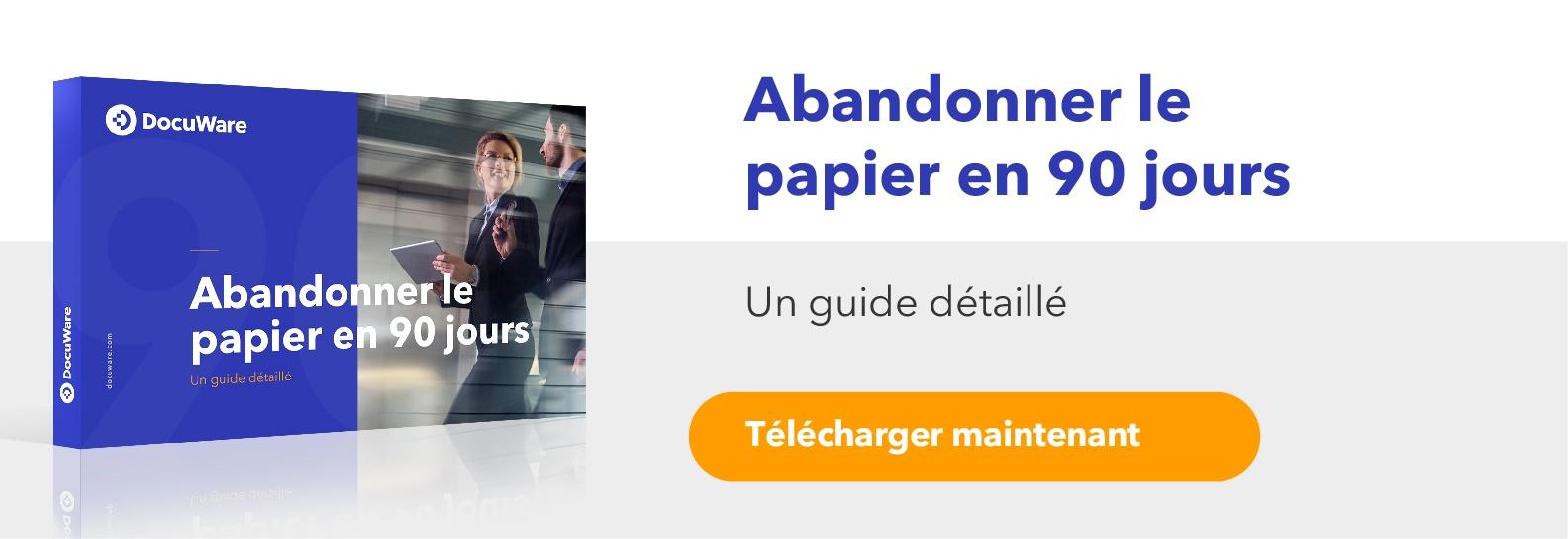 ebook abandonner le papier en 90 jours avec DocuWare