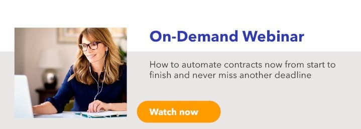 How to automate contracts now from start to finish and never miss another deadline