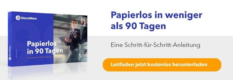 Papierlos in weniger als 90 Tagen