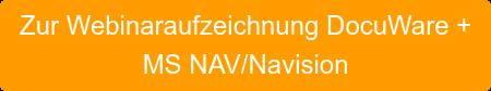 Zur Webinaraufzeichnung DocuWare +  MS NAV/Navision