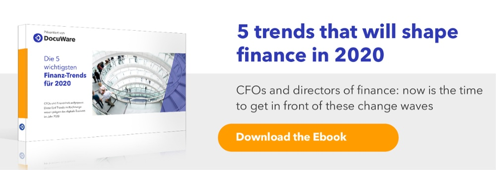 Ebook - Five Trends Shaping Finance in 2020