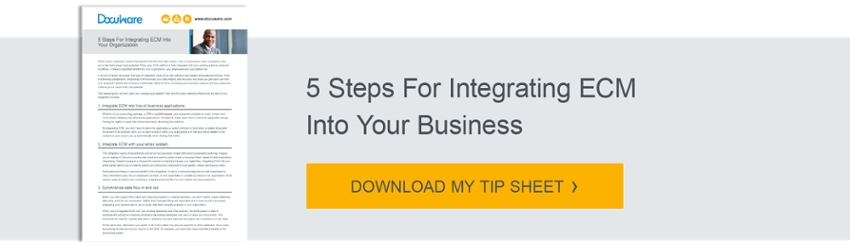 5 Steps For Integrating ECM