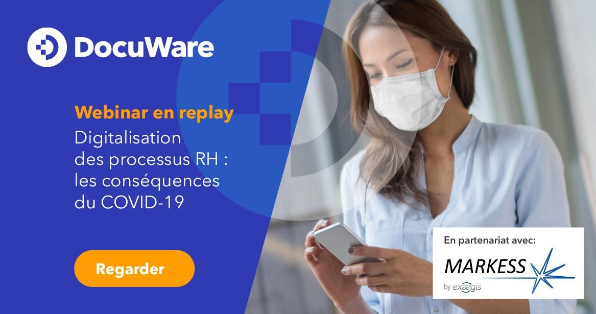 Webinar en replay - digitalisation des processus RH