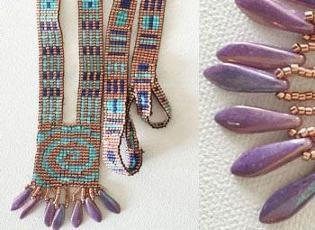 Swirl Split-Loom Necklace