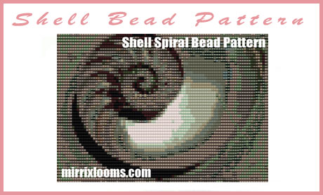 shell bead pattern