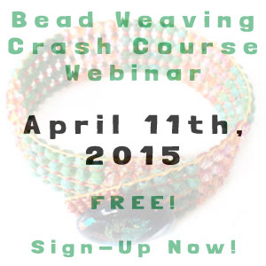bead weaving crash course webinar