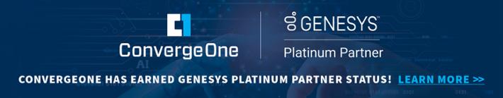 Genesys Platinum Partner Status - Learn More