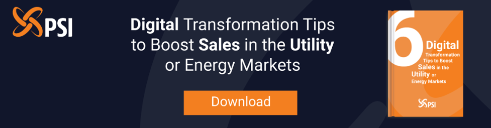 Digital Transformation Tips to Boost Sales in Utility and Energy Markets