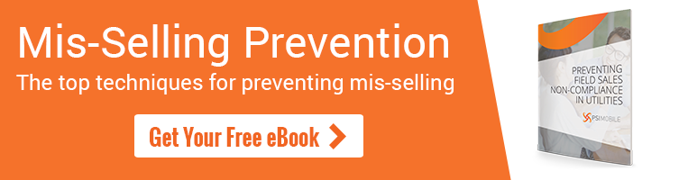 Download the eBook - Preventing Field Sales Non-Compliance In Utilities