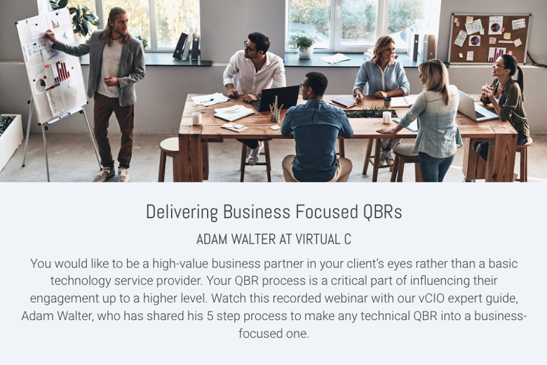 Delivering Business Focused QBRs