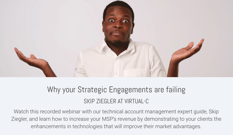 Why your Strategic Engagements are failing