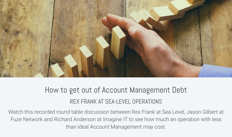 How to get out Account Management Debt