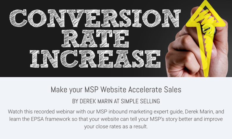 Make your MSP Website Accelerate Sales