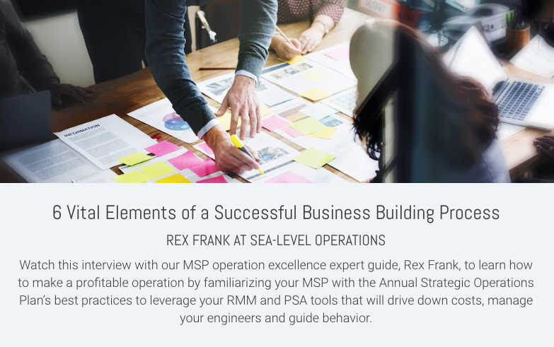 6 Vital Elements of a Successful Business Building Process