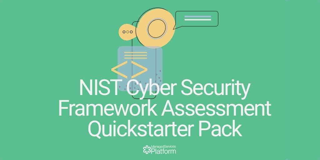 NIST Cyber Security Framework Assessment