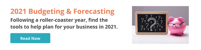 Budgeting & Forecasting for 2021