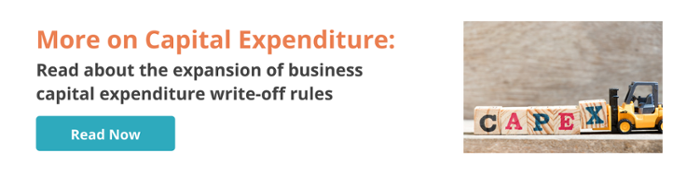 Budget on Capital Expenditure Write-Offs