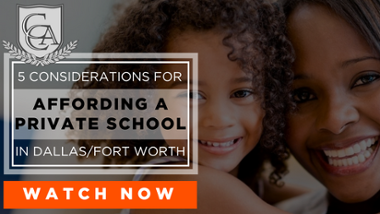 Webinar: 5 Considerations for Affording a Private School in Dallas/Fort Worth