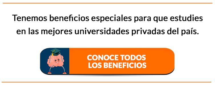 Tenemos beneficios especiales para estudiar en las mejores universidades privadas