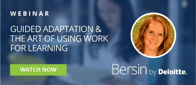 guided adaptation and the art of using work for learning