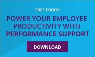 power employee productivity with performance support