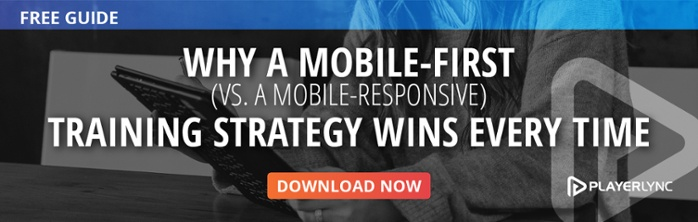 why a mobile first learning strategy wins every time