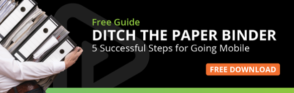 ditch the paper binder 5 successful steps for going mobile
