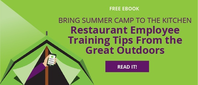 restaurant employee training tips from the great outdoors