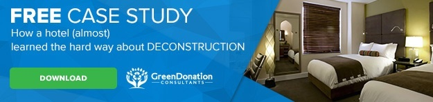 Green Donation Consultants Hotel Deconstruction Case Study