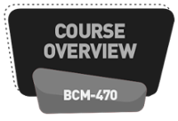 [WSQ-BCM-470] Course Overview Developing A BCM Training and Learning Roadmap