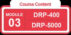BL-DR-5 M3 Course Content IT DRP-5000