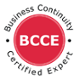 BCCE Business Continuity Certified Expert Certification