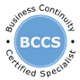 BCCS Business Continuity Certified Specialist Certification