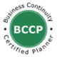 BCCP Business Continuity Certified Planner Certification