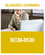 [BL-A-5] What is a BCM-8530 Blended Learning Course?