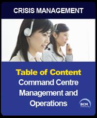 Establish and Operate Command Centre