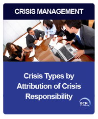 Crisis Types by Attribution of Crisis Responsibility