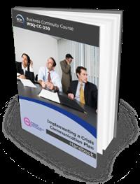Implementing Crisis Communication Plan [WSQ-CC-350]