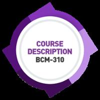 WSQ-BCM-310 Course Content [RAR] [BIA]