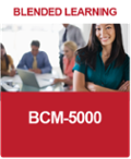 [BL-B-5] What is a BCM-5000 Blended Learning Course?