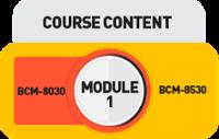 BL-A-5 M1 Audit Course Content BCM-8530 BC-8030 BCM-200