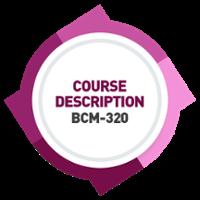 WSQ-BCM-320 Course Content [BCS] [PD]