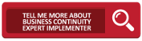 Tell Me More AboutBusiness Continuity Management Expert Implementer