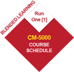 CM-5000 BL-CM-5 Run Two  (2) Course Schedule 2020