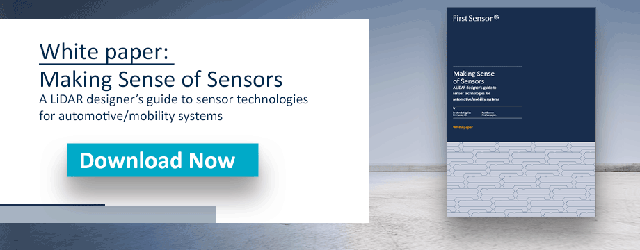 White paper making sense of sensors